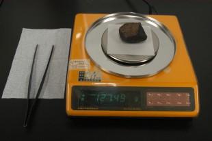 隕石の計量